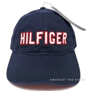 Tommy Hilfiger Spell Out Embroidered Strapback Hat
